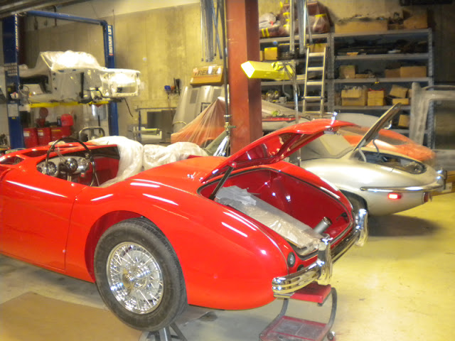 British Classic Car Specialist Jaguar, MGB, Austin Healey