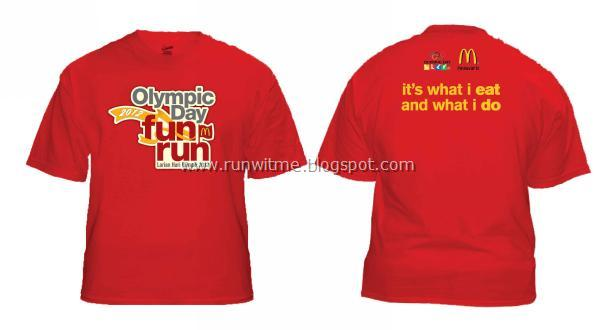 Running With Passion First Look Mcdonald 39 S Olympic Day