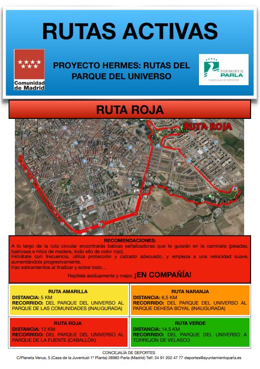 Ruta Roja. Programa Hermes