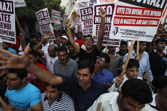 """Ρατσιστική η επίθεση από τους φανατικούς Ισλαμιστές στην """"αντιρατσιστική διαδήλωση"""" της Παρασκευής στην Αθήνα!"""