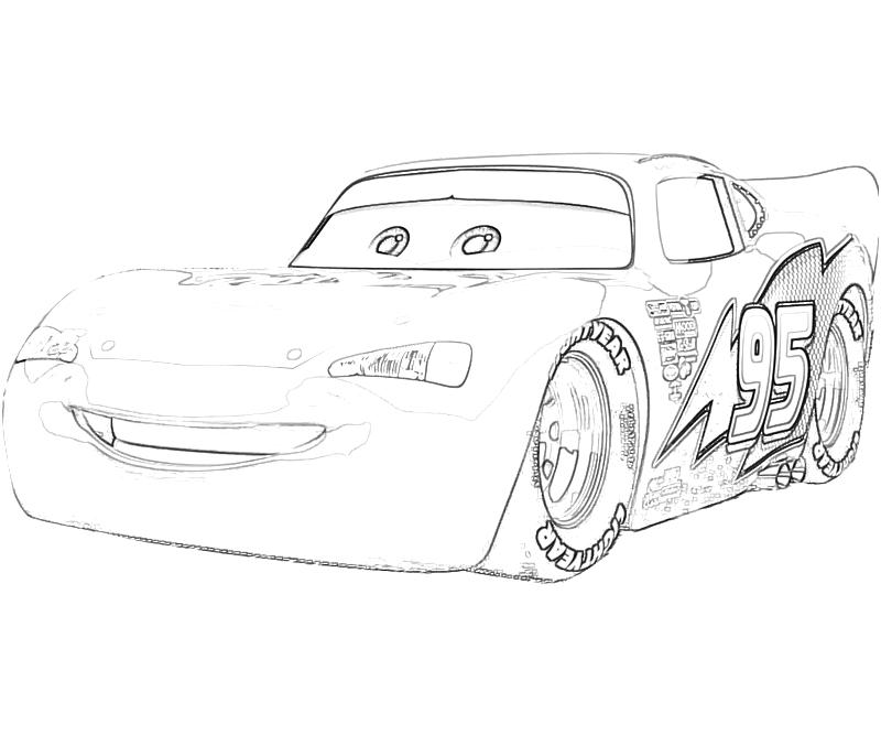lightning mcqueen coloring pages - Cars 2 Colouring Lightning McQueen Kidspot co nz