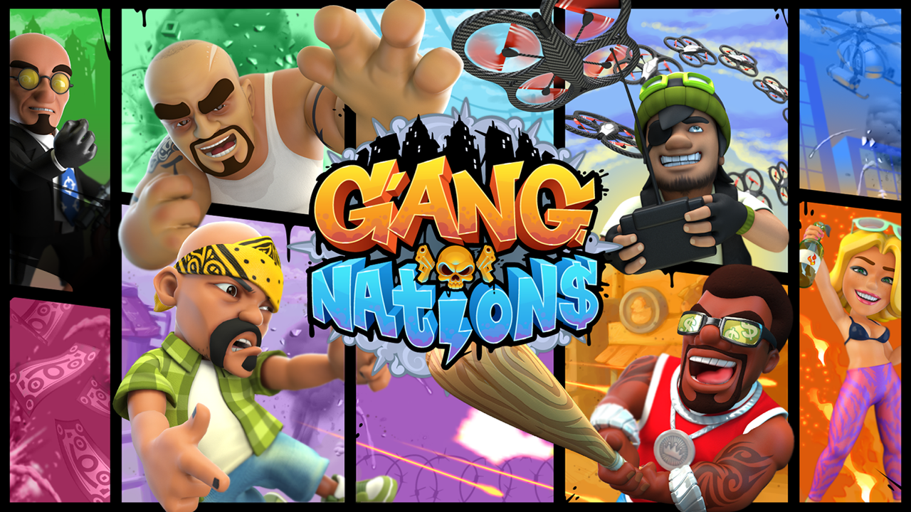 Gang Nations Gameplay IOS / Android