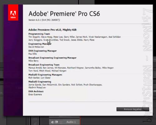 Adobe premiere pro cs6 v6 0 1 setup key