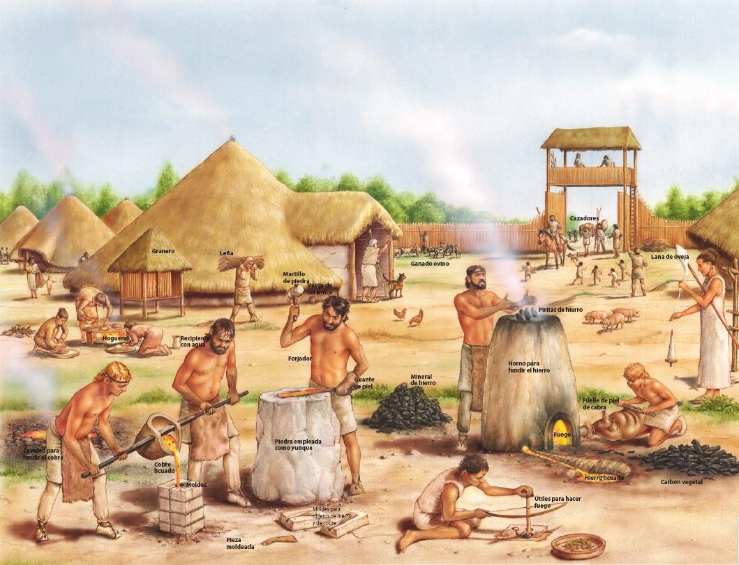 Resultado de imagen de La complejidad Social de Grupos en la Edad del Hierro