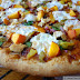 Sweet & Spicy Peach, Chicken, Hatch Chile and Spinach Pizza