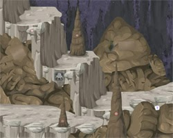 Juegos de Escape Frozen Cave Escape