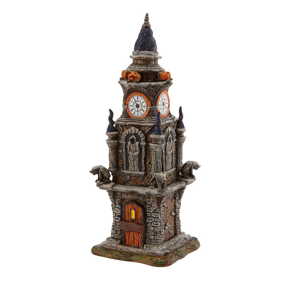 halloween clock tower