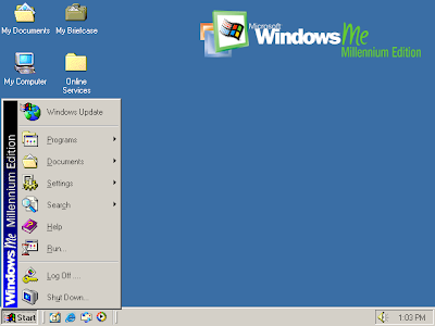screenshot foto windows ME
