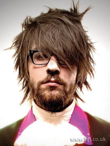 Peinados a la moda cortes de cabello y peinados emo para - Moda peinados hombre ...
