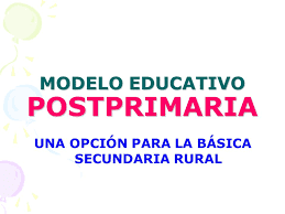 GUIAS DE POSTPRIMARIA