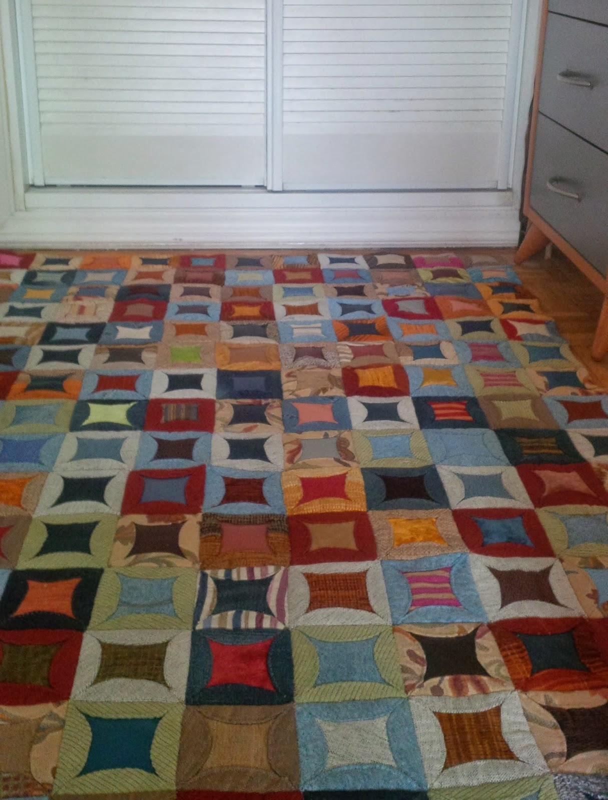 Jubilocios alfombra patchwork galletas - Alfombra patchwork ...