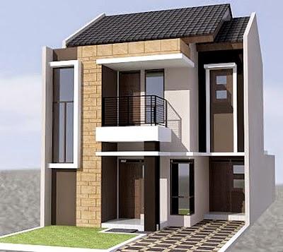gambar rumah minimalis type 45 2 lantai