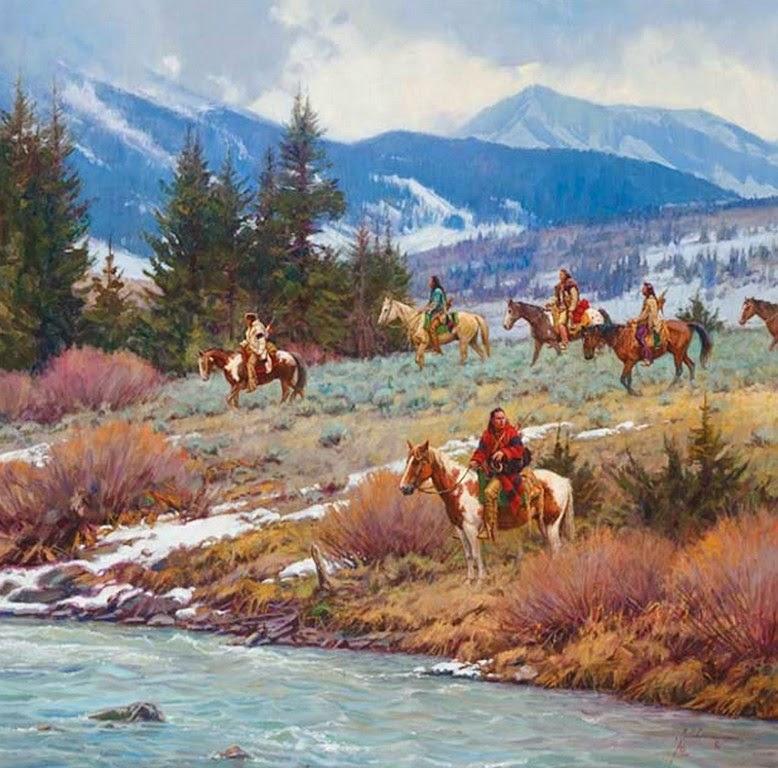 paisajes-con-caballos-y-figura-humana