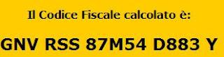 COME CALCOLARE IL CODICE FISCALE ONLINE GRATIS