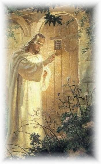He is at the doorway of your heart. Invite Him in!