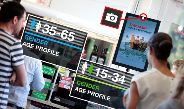Face Recognition - Outdoor Advertising