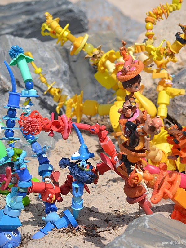 recycled plastic toys of awesome