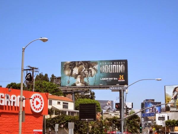 Houdini History billboard