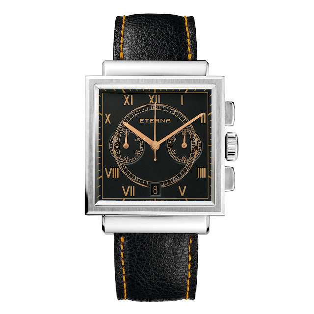Eterna Heritage Chronograph Limited Edition 1938 Watch front