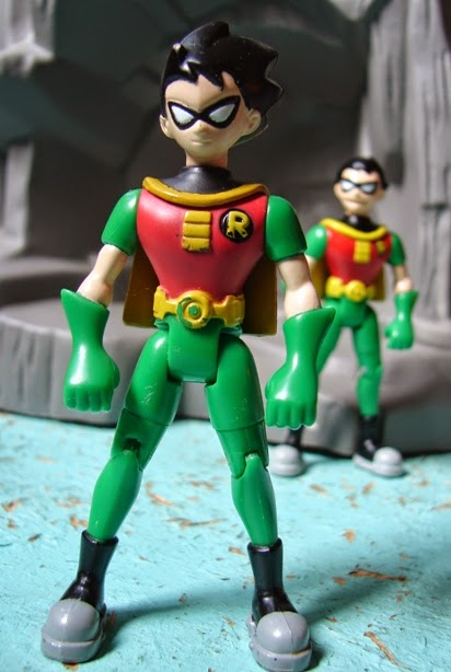 Teen Titan Character Toys : Toyriffic bandai teen titans robin variants week