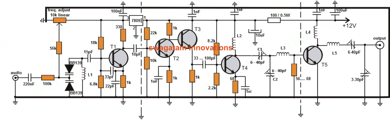 long range transmitter circuit 2 to 5 km range electronic long range transmitter circuit 2 to 5 km range