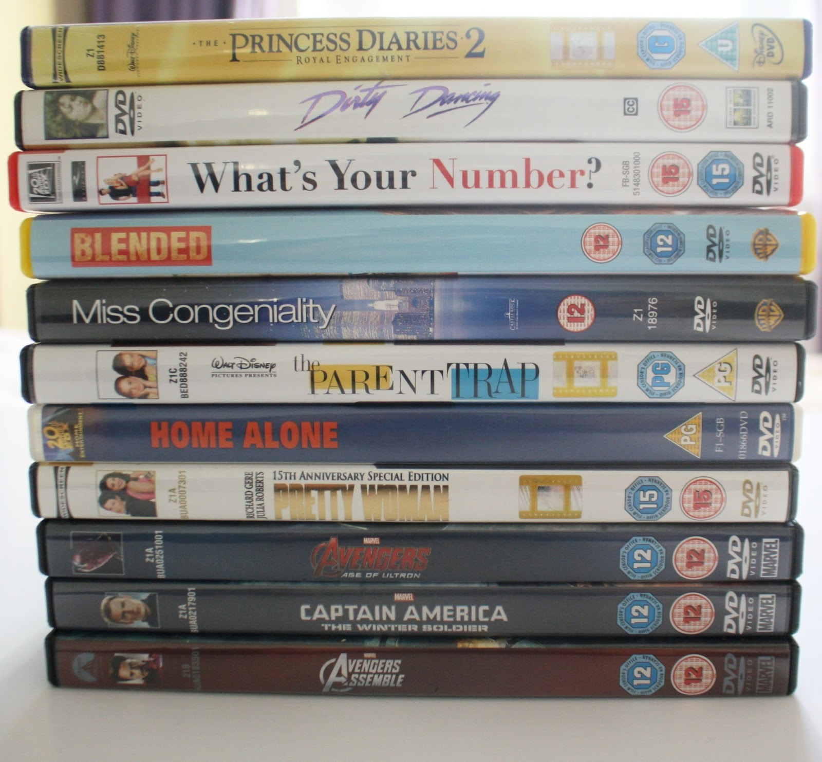 DVD Collection Rom Com movies Chick Flick