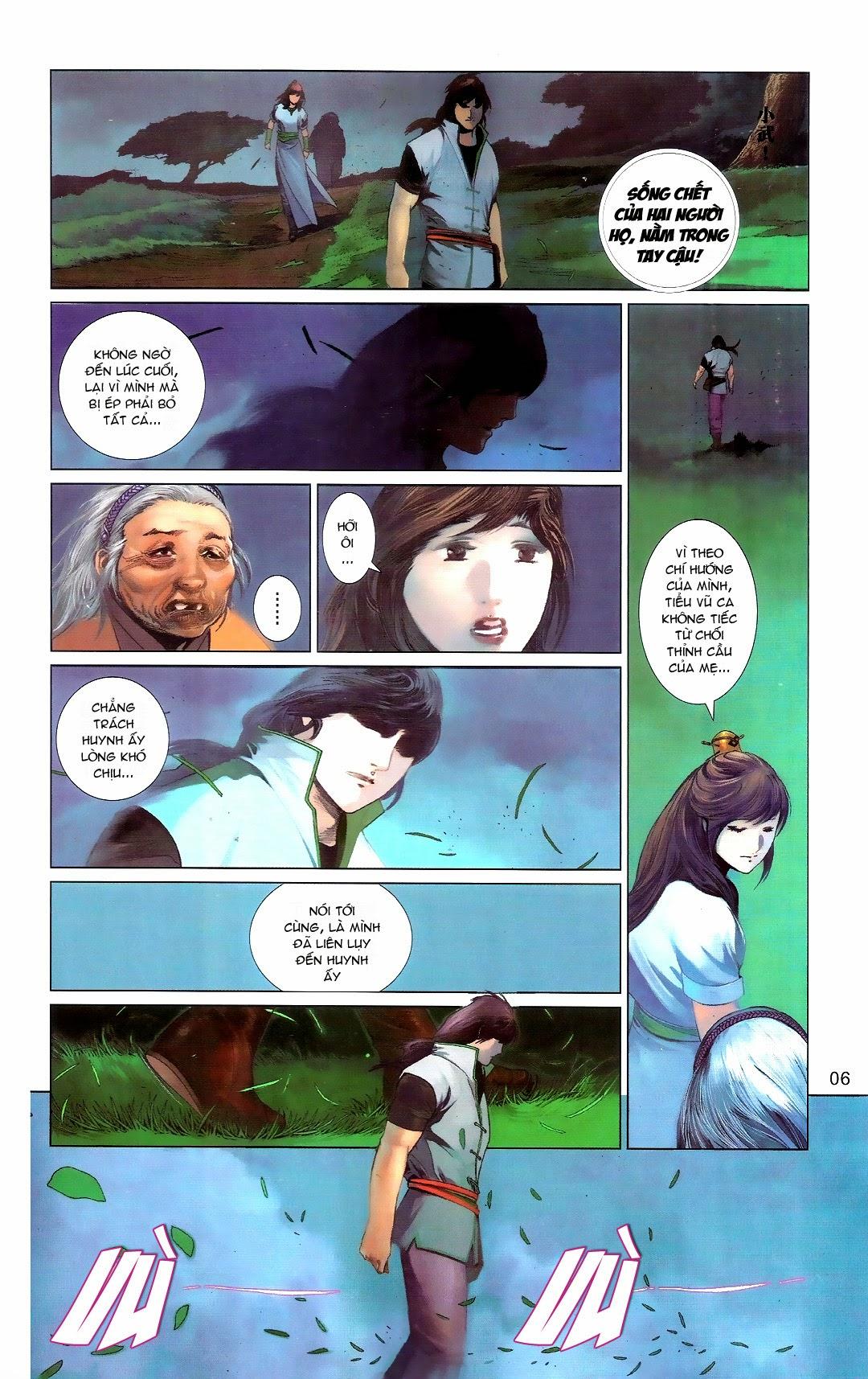 Phong Vân chap 666 Trang 6 - Mangak.info