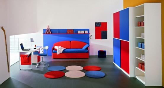 25 frescas ideas para dormitorios para ni os decoraci n for Habitaciones infantiles modernas