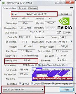 cara melihat VGA card di laptop