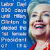 Happy Labor Day! 800 days...