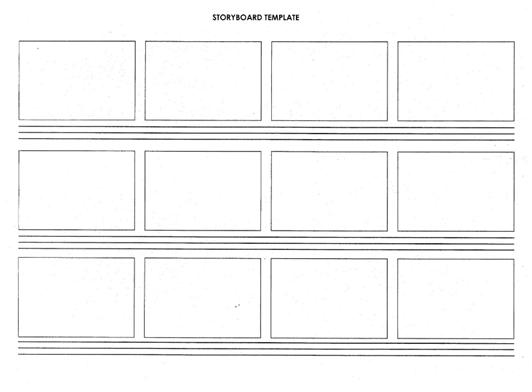Storyboard, Script And Shotlist Template