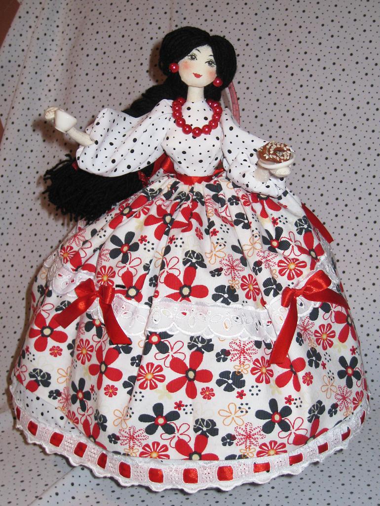 Грелка на чайник своими руками куклы выкройка