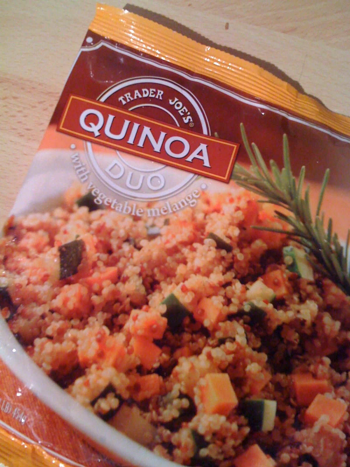 Ingest trader joe 39 s quinoa duo for Trader joe s fish