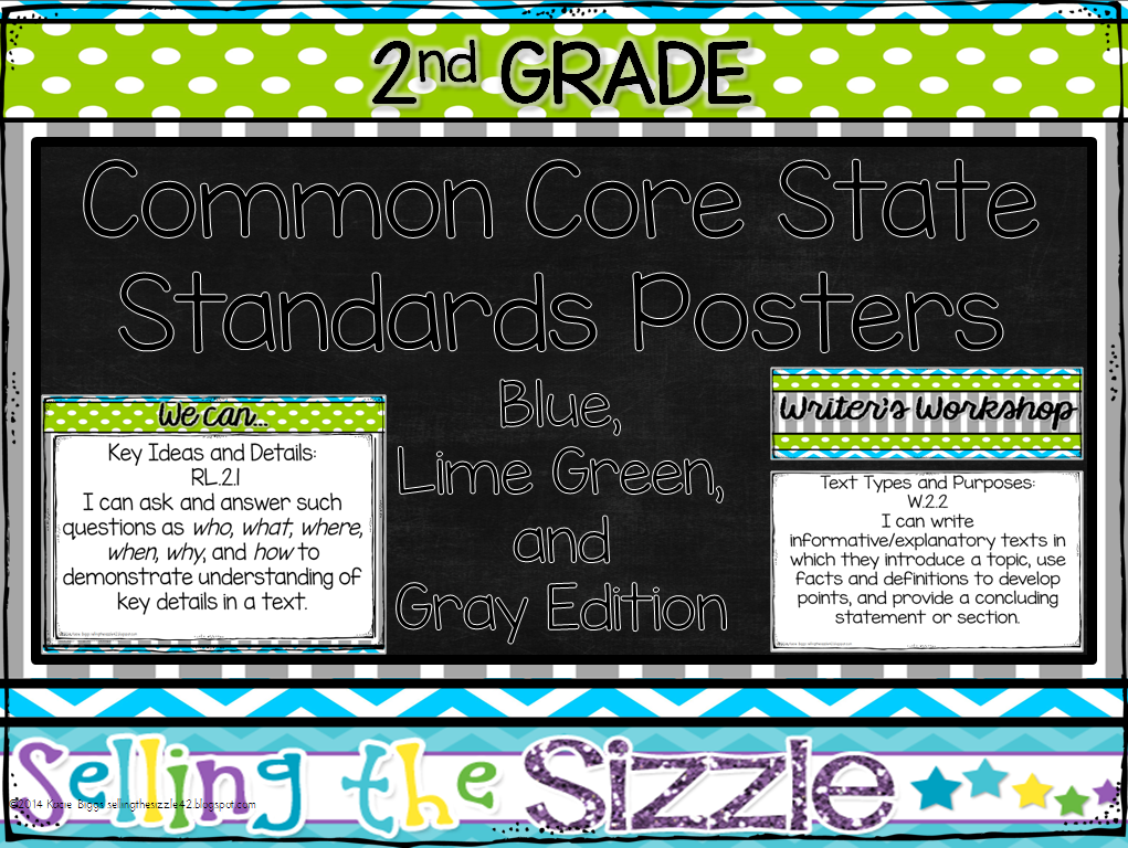 http://www.teacherspayteachers.com/Product/2nd-Grade-CCSS-I-CanWe-Can-Display-Posters-BlueGreenGray-Themed-1314047