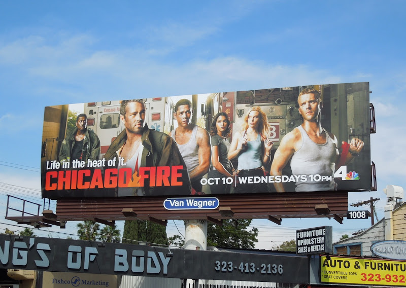 Chicago Fire season 1 billboard