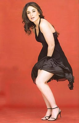 Kareena Kapoor - Kareena Kapoor Hot in Black Dress