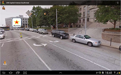 google maps android street view