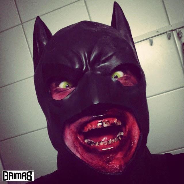 Zombie-Batman + makeup/maskeeraus: Ari Savonen.