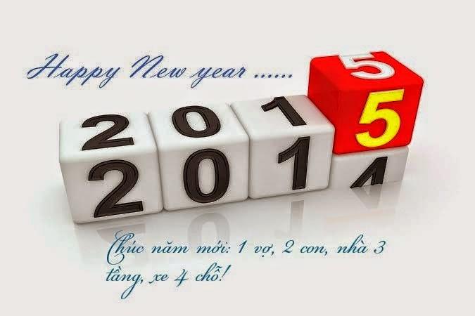 thiệp chúc mừng năm mới 2015 đẹp