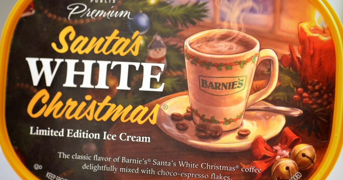 food and ice cream recipes: REVIEW: Publix Premium Santa\'s White ...