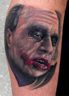 Tatuagens imagens cara brincalhão