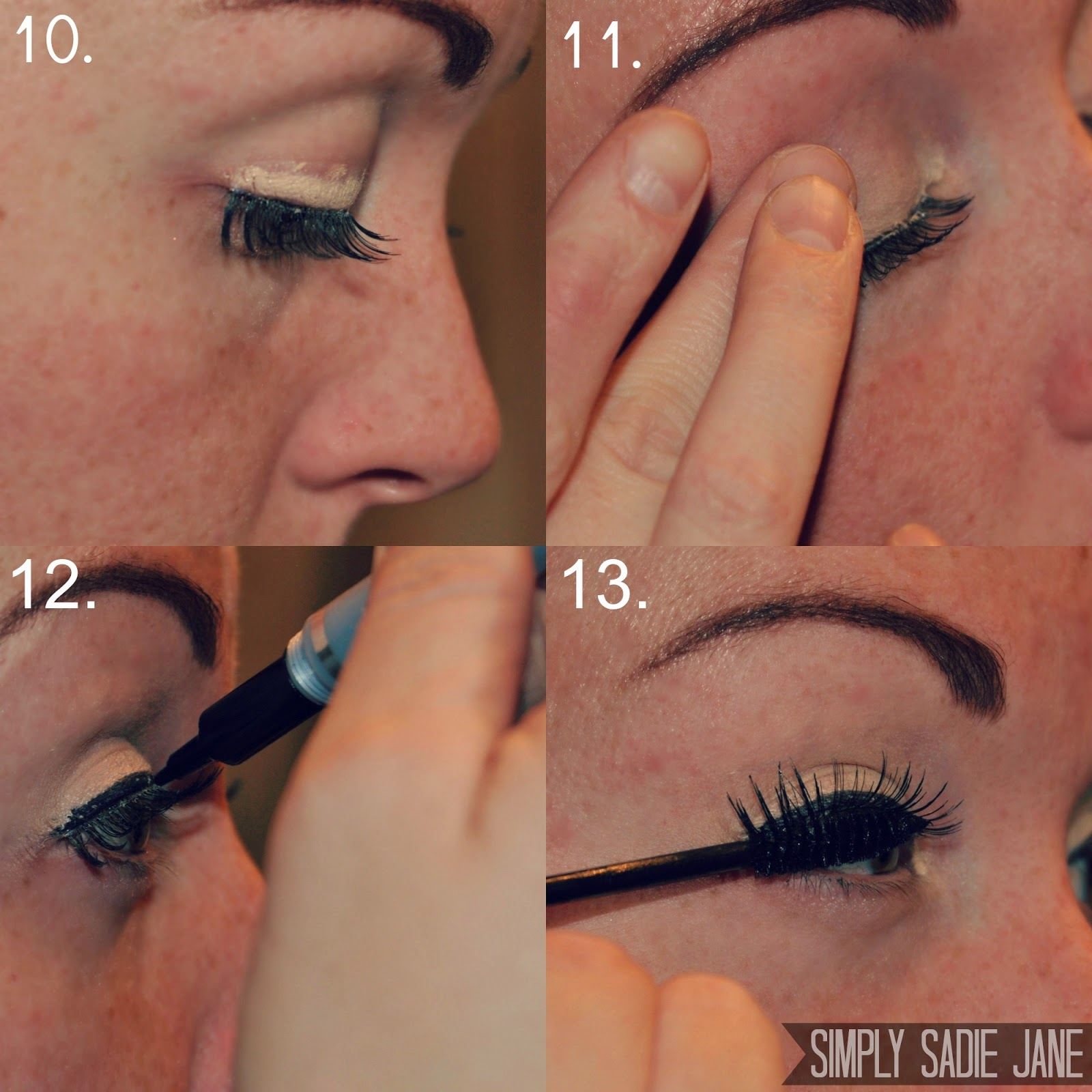 how to wear fake lashes