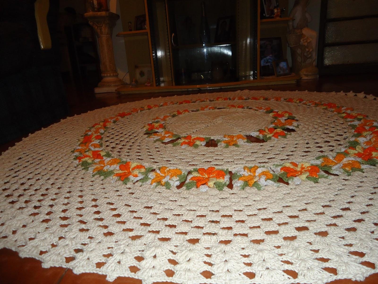 Andressa Croch Com Amor Julho 2013 -> Tapete Croche Grande