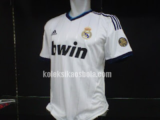 Kaos Jersey Bola Real Madrid Home 2012-2013 Grade Ori