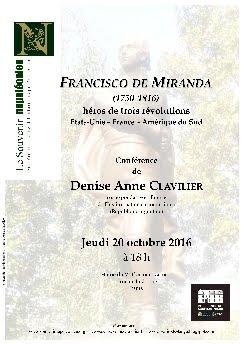 Conférence à Paris, le 20 octobre