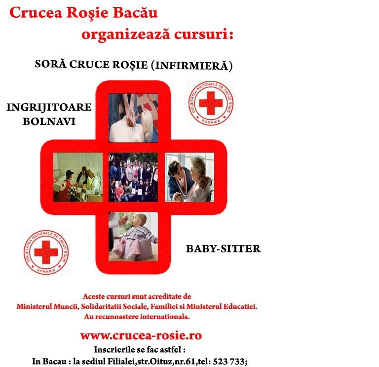Crucea Rosie Romana Crucea Rosie Bacau Organizeaza