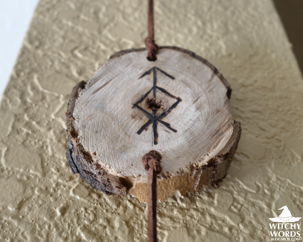 Witchy Words Protective Rune Chain House Cleansing Part 1