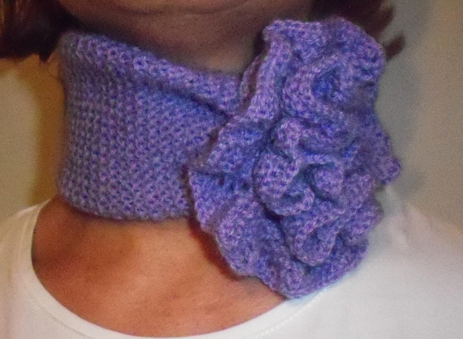 El rincon de angeles bufandas de lana - Puntos de lana ...