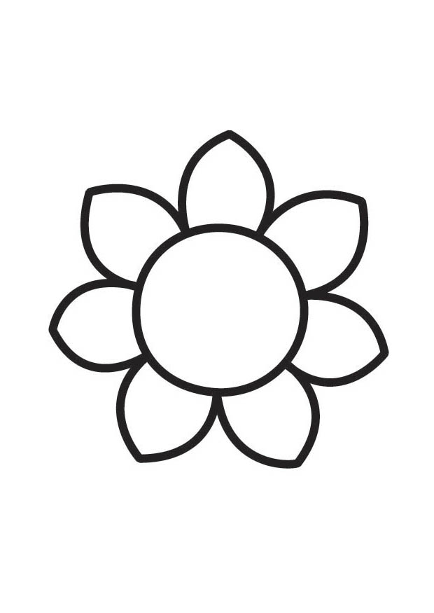 Flower Coloring In Sheets : Small flower coloring pages page