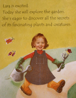 personalised story book enchanted garden